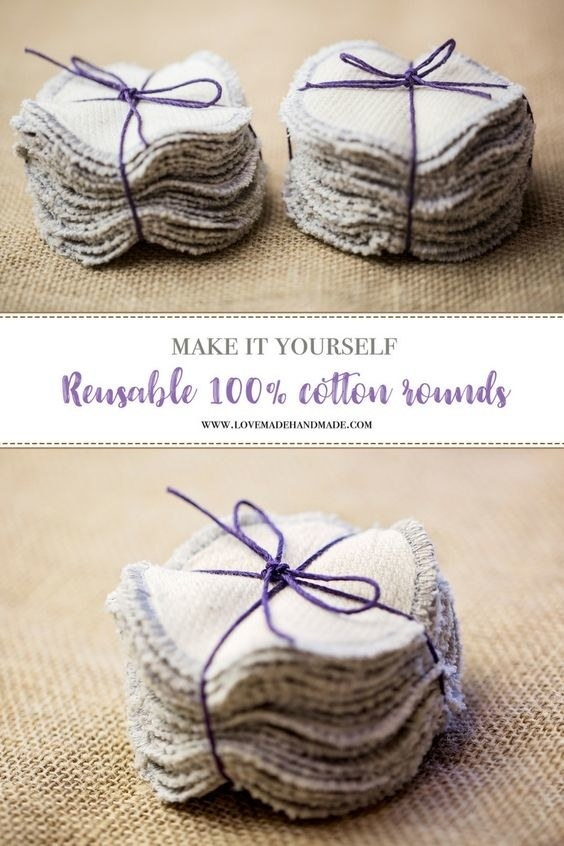 DIY Cotton Rounds Instructions