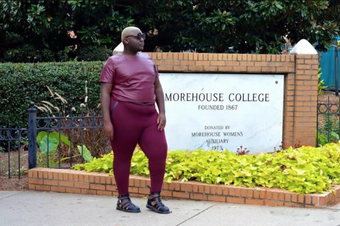 Morehouse graduate Jamal Lewis returns for Homecoming, from a 2015 BuzzFeed News feature.