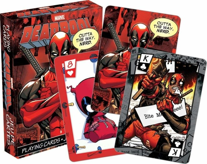 """Promising review: """"The number of cards are complete and they are really beautifully printed. I like that designs are different and even the jokers don't look exactly the same, they really put a lot of detail on them."""" —Mar182Get them from Amazon for $7.20."""