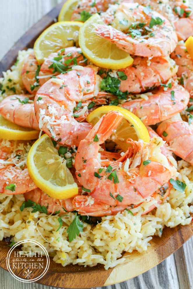 Spanish and Italian flavors collide, combining two classic seafood dishes into one delicious meal. Get the recipe here.