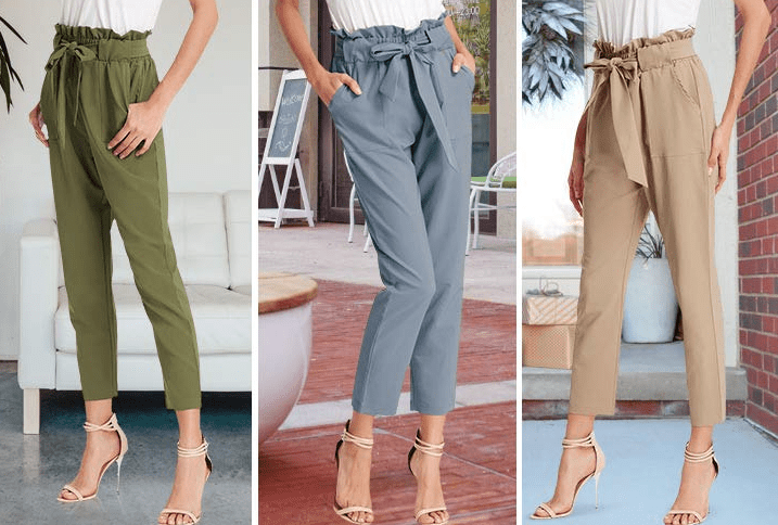 """Promising review: """"Love these pants. Comfortable and washed well. I am 5'6, 120 lbs. and I ordered the medium. I wanted the fit to be a little baggy and it is. I would usually wear a small or size 4; based on the reviews I ordered one size up."""" —nocutenameGet them from Amazon for $19.99+ (available in sizes S-XXXL and 16 colors)."""