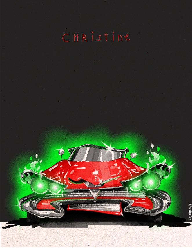This is, of course, the possessed 1958 Plymouth Fury from Christine.