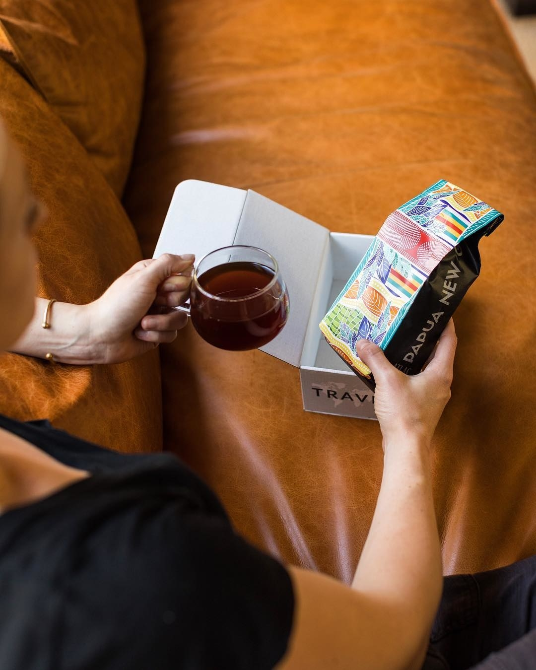 """Get it from Atlas Coffee Club starting at  for a three month gift subscription. Check out """"This Subscription Service Delivers You Fresh Coffee From Around The World"""" for our Atlas Coffee Club review!"""
