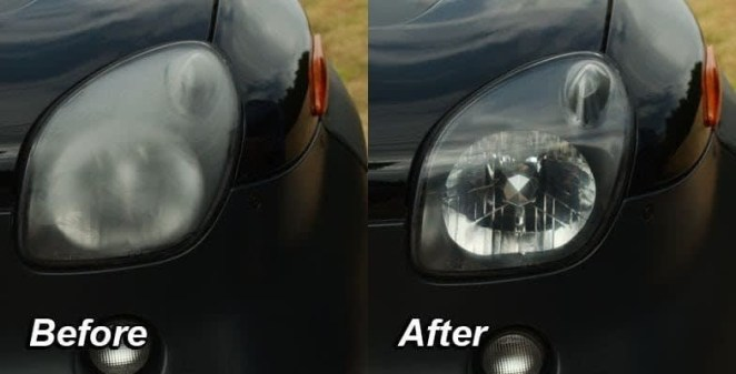 """Each kit includes one precision Wipe-It infused with Wipe New solution, one professional Lens Polishing Pad, one pair of nitrile gloves, and one microfiber towel to give your headlights a streak-free finish. One application is expected to last your headlights for years!Promising review: """"If I could give it 10 stars, I would! My headlights were so bad, I couldn't see anything at night. My boyfriend went to Walmart and got this stuff. I got up the next morning and I swear it looked like he went and bought brand new headlights. Would totally recommend this to anyone!!"""" —SaraGet it from Walmart for $9.88, or Target for $9.89."""