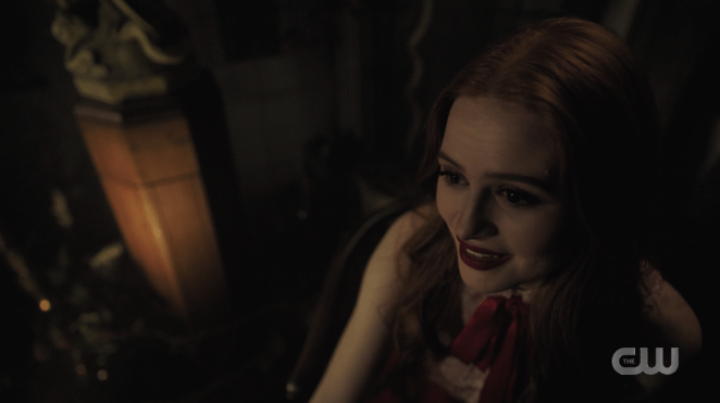 """Speaking about this creepy Cheryl moment, Roberto said, """"I don't think it's going to go as extreme as Norman Bates but it will hopefully put us in a place where we can go a little bit weirder and more twisted with the Blossoms."""""""