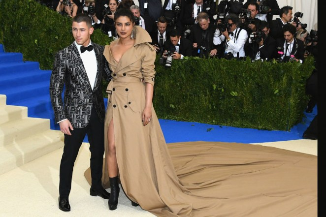 """In an interview with Jimmy Kimmel, Priyanka said the attended together """"for fun"""" because they were both wearing Ralph Lauren and were seated at the same table. And thus started their romance."""
