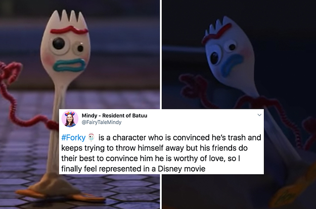 Forky From Toy Story 4 Is The Relatable Icon We Deserve So