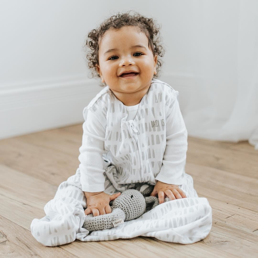 """It goes over their regular PJs and keep them cozy all night long! Plus it's been named the First Candle/SIDS Alliance #1 Safe Sleep Product. Promising review: """"We love the SleepSacks. Baby hasn't liked being bound up (wrapped tight) since he was two months old. We started using the these to make sure he stayed covered up in the middle of the night. Also, they are easy to get into to change his diaper. The micro fleece is great in cold winter months, and the light cotton knit works well the rest of the year."""" — Mamasita Get the cotton version from Walmart for .99+ (five sizes, 17+ colors/patterns) or in microfleece for .99 (currently only available in pink)."""