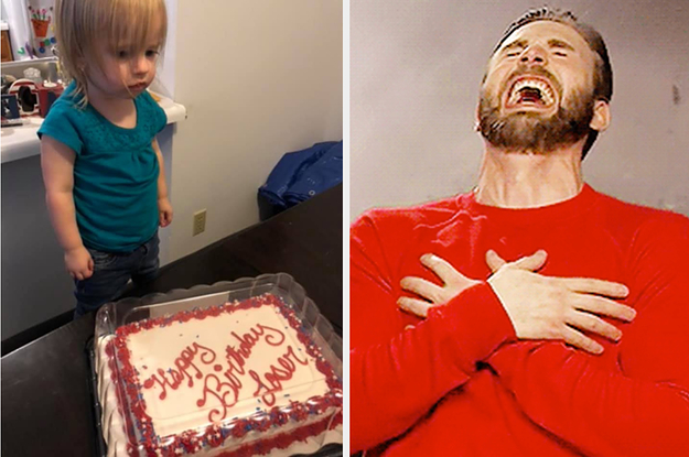 This Little Girl S Birthday Cake Fail Is The Cutest Thing I Ve Seen In Weeks