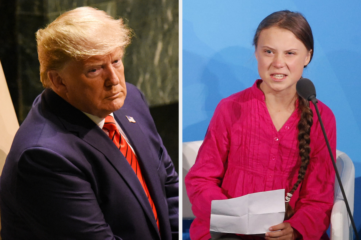 Greta Thunberg Changes Twitter Bio After Trump Troll