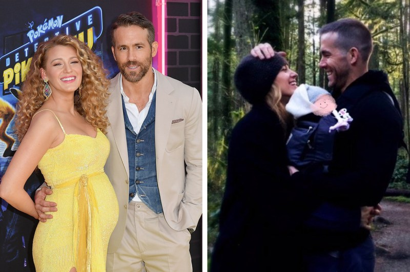 Ryan Reynolds Shared The First Picture Of His Newborn Daughter And, Of Course, He