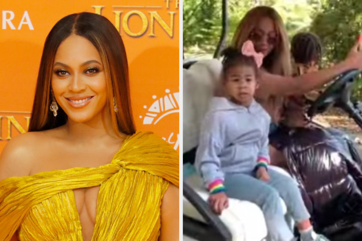 beyonce shares video of twins sir and rumi