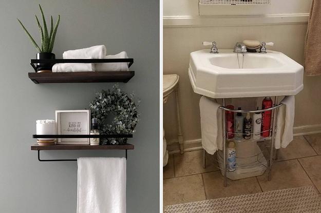 25 bathroom storage ideas that are