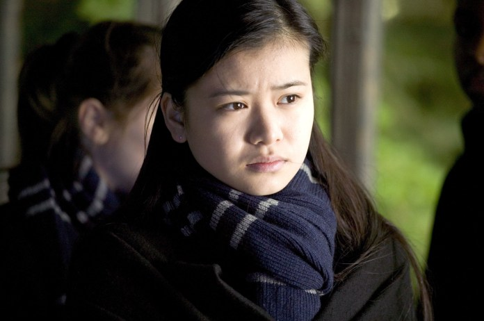 Leung looking pensive in Harry Potter and the Goblet of Fire