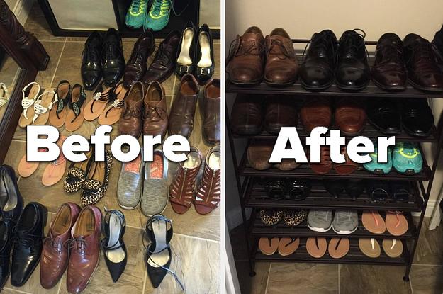 best shoe organizers to marie kondo