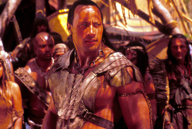 He was paid $5.5 million for his role in The Scorpion King - that's a world record for an actor in his first starring role.