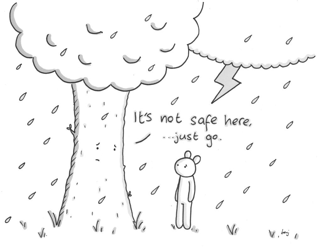 Drawings Sad Life
