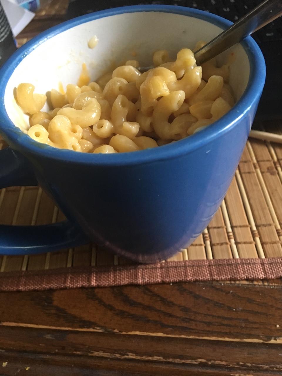 microwave 5 minute mac n cheese recipe by tasty