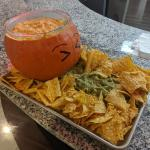 Jack O Lantern Chips And Dip Recipe By Tasty
