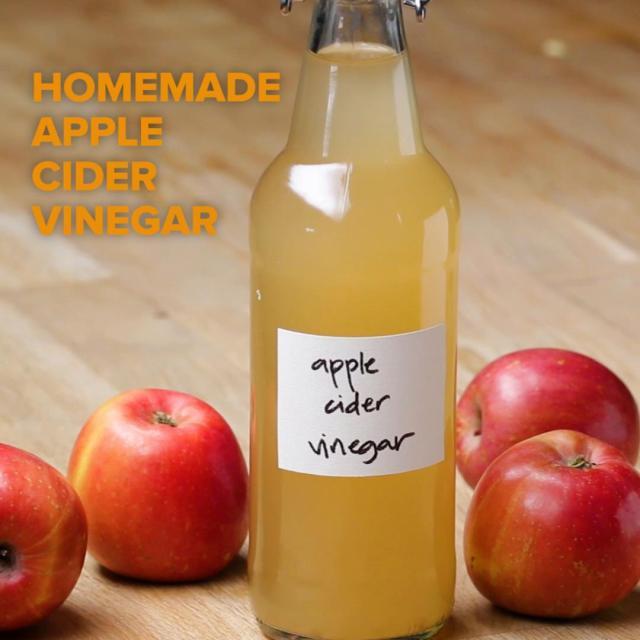 Apple Cider Vinegar Recipe by Tasty