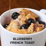 Blueberry French Toast In A Mug Recipe By Tasty