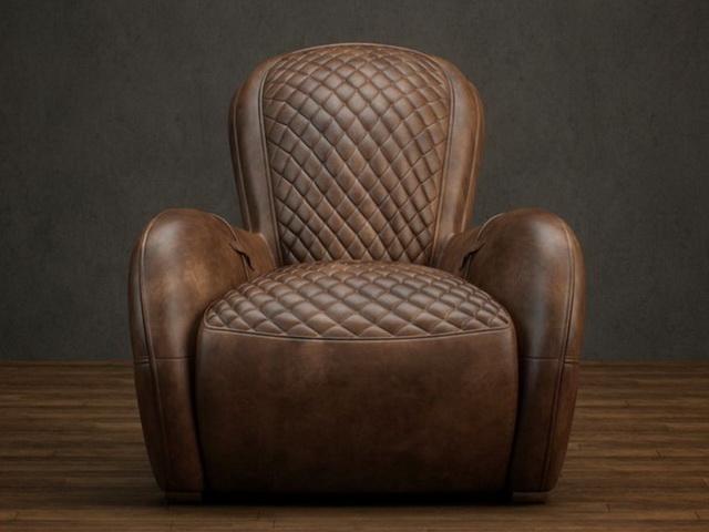 Classic Leather Reclining Sofa 3d Model 3dsmax Files Free