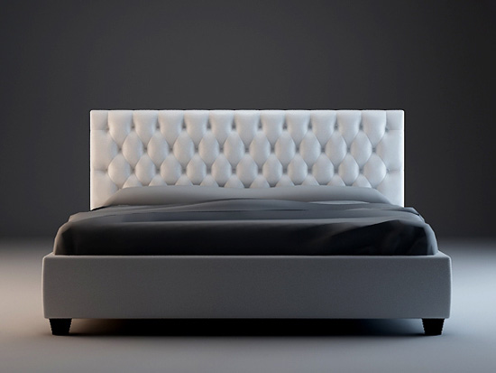 Chesterfield Bed 3d Model 3dsmax3ds Files Free Download