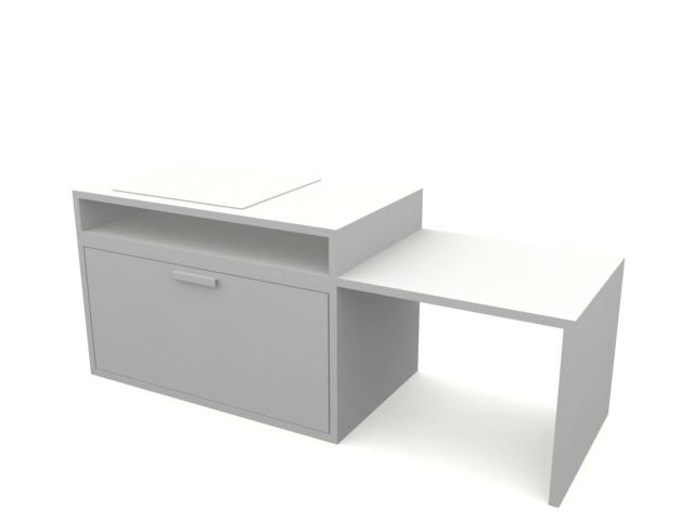 Modern Kitchen 3d Model Free Download  free furniture 3d