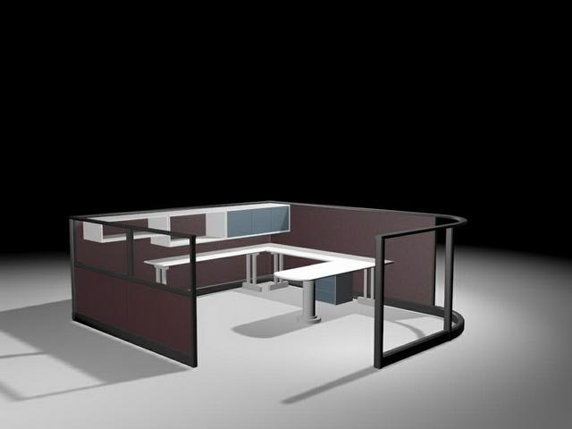 Light Wood Office Desk