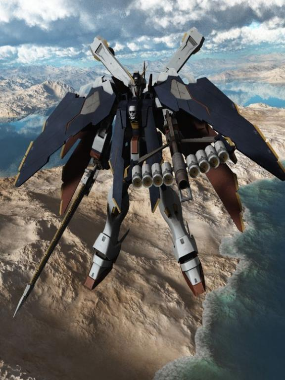 Crossbone Gundam X 1 Full Cloth 3d Model 3dsMax Files Free