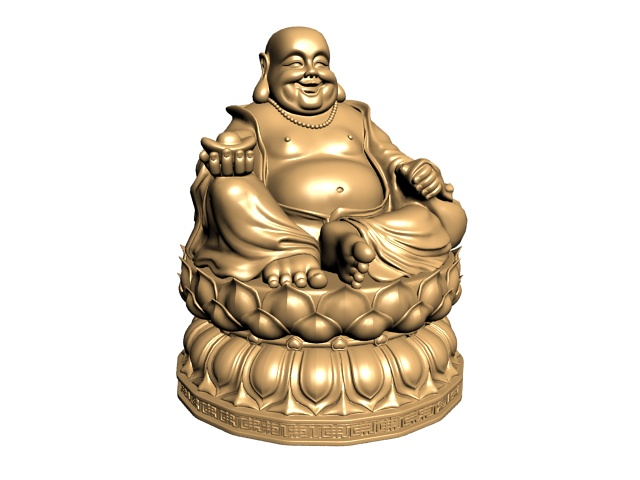 Happy Buddha Statue 3d Model 3ds Max Files Free Download Modeling 21903 On CadNav