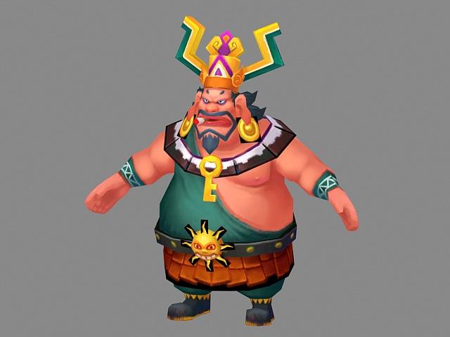 Fantasy Fat Man 3d Model 3ds Max Files Free Download