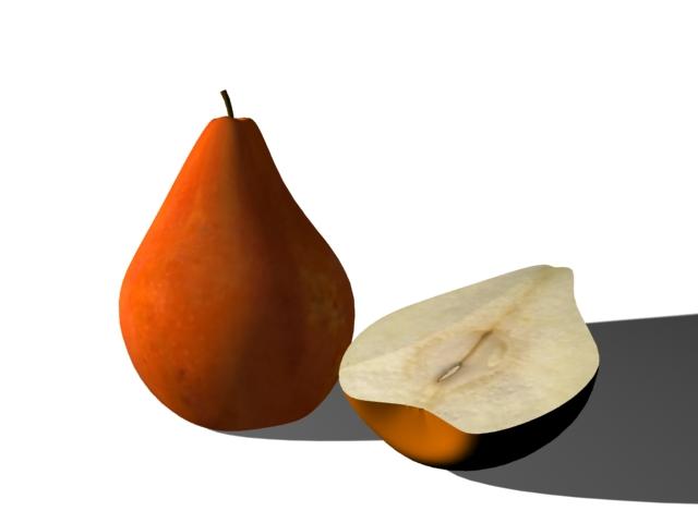 Pear Sross Section 3d Model 3ds Max Files Free Download Modeling 25918 On CadNav