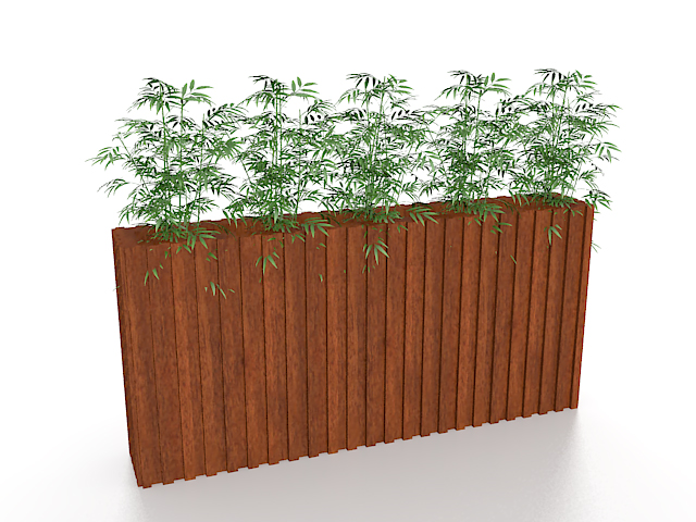Bamboo In Planter Box 3d Model 3ds Max Files Free Download Modeling 27069 On CadNav