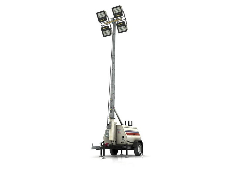 Light Tower Generator 3d Model 3ds Max Files Free Download