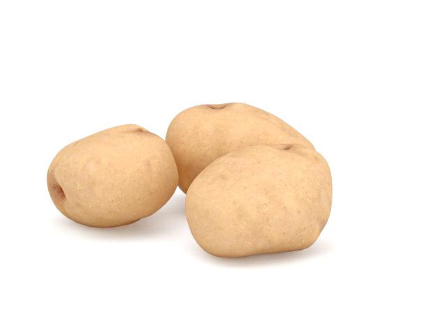 Fresh Potatoes 3d Model 3ds Max Files Free Download Modeling 31880 On CadNav