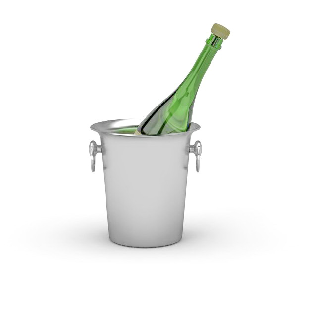 Champagne Ice Bucket 3d Model 3ds Max Files Free Download Modeling 32577 On CadNav