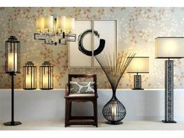 Floor Lamp 3d Model Free Download