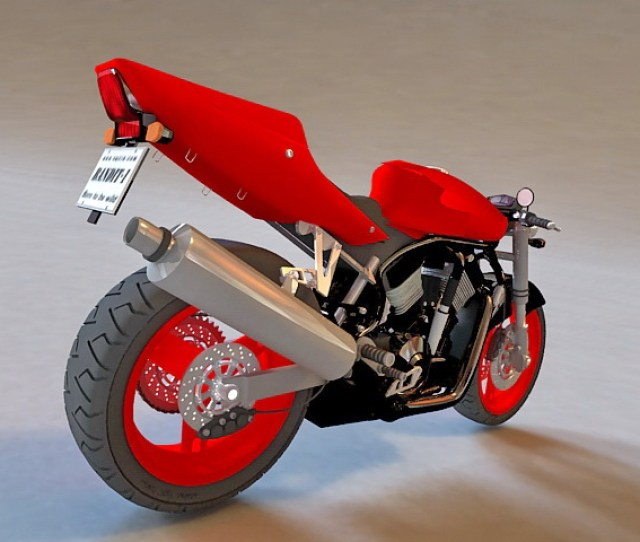 High Detailed D Model Of Suzuki B King Streetfighter Sport Bike Available D File Format Max Autodesk Ds Max Texture Format Jpg