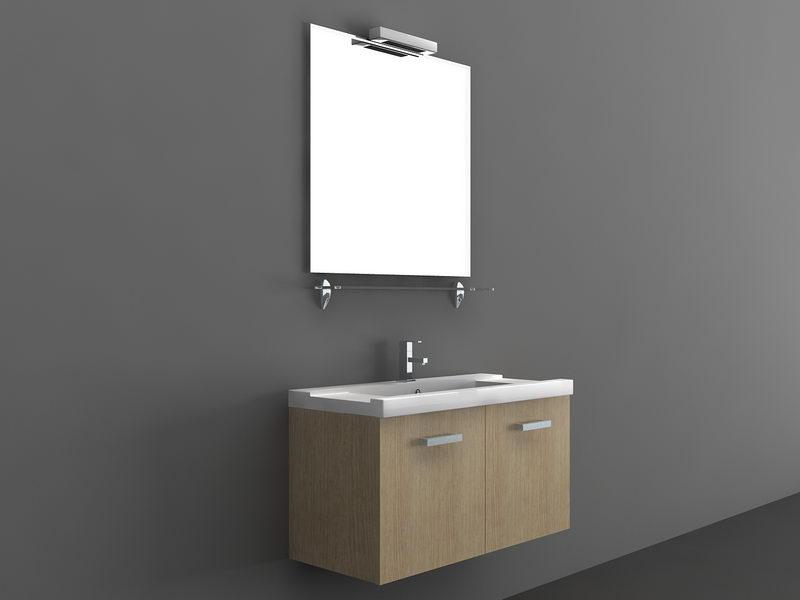 Wall Mount Bathroom Vanity 3d Model 3D Studio3ds Max