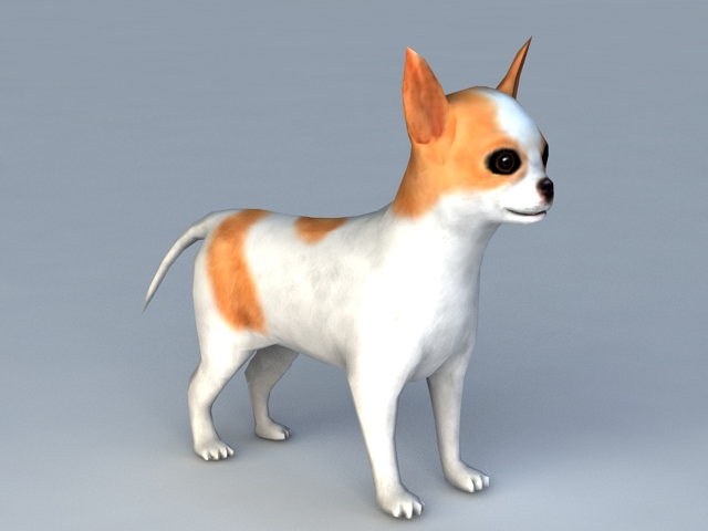 Puppy Dog 3d Model 3ds Max Files Free Download Modeling