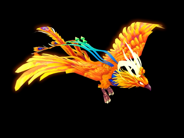Animated Phoenix 3d Model 3ds Max Files Free Download