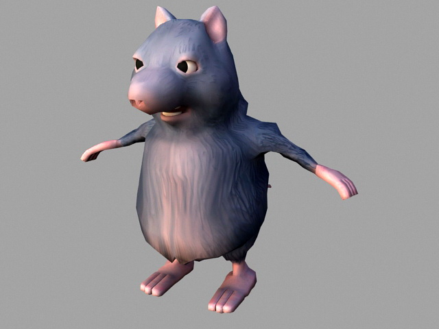 Fat Rat Rig 3d Model 3ds Max Files Free Download Modeling 45705 On CadNav