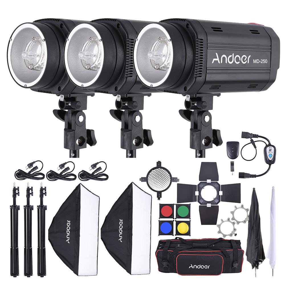 Portrait Strobe Lighting Kit