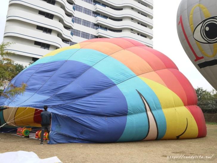 20190120181749 30 - 台中也出現熱氣球了!除了起球表演及熱氣球吊籃拍照外,還可以走進熱氣球體驗唷~