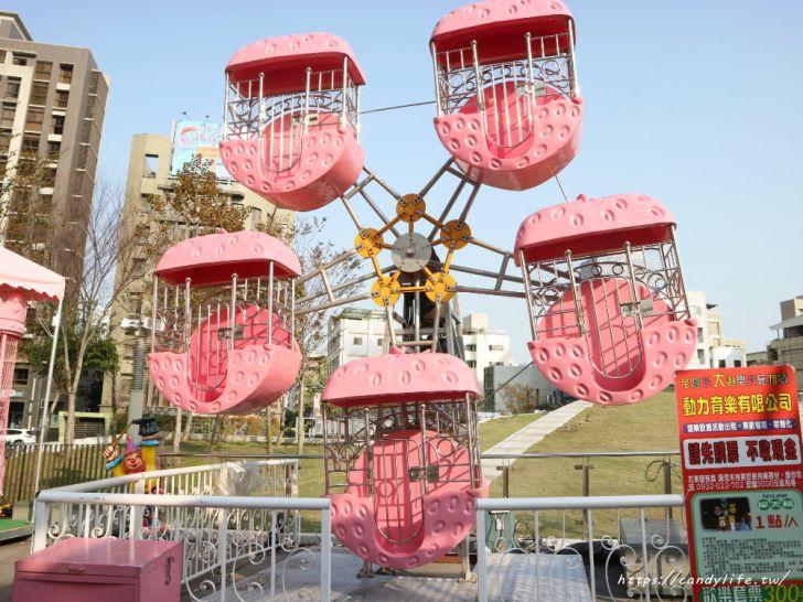 20190225171510 28 - IG超夯粉紅熱氣球打卡點就在台中,還有粉紅色咖啡杯及粉紅旋轉木馬~