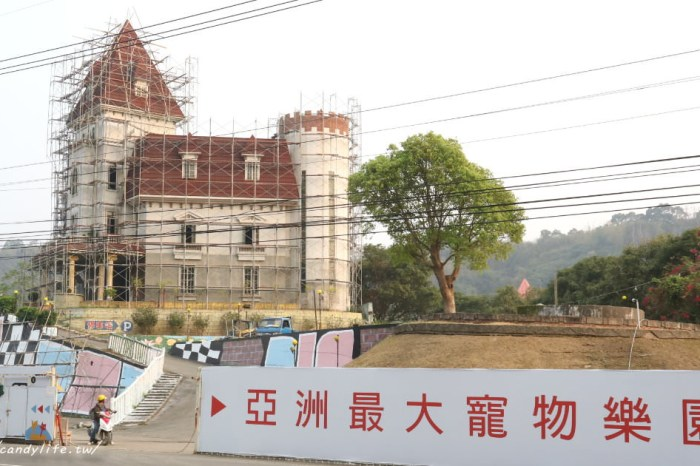 大坑東山樂園即將重建成亞洲最大寵物樂園,預計6月開幕!