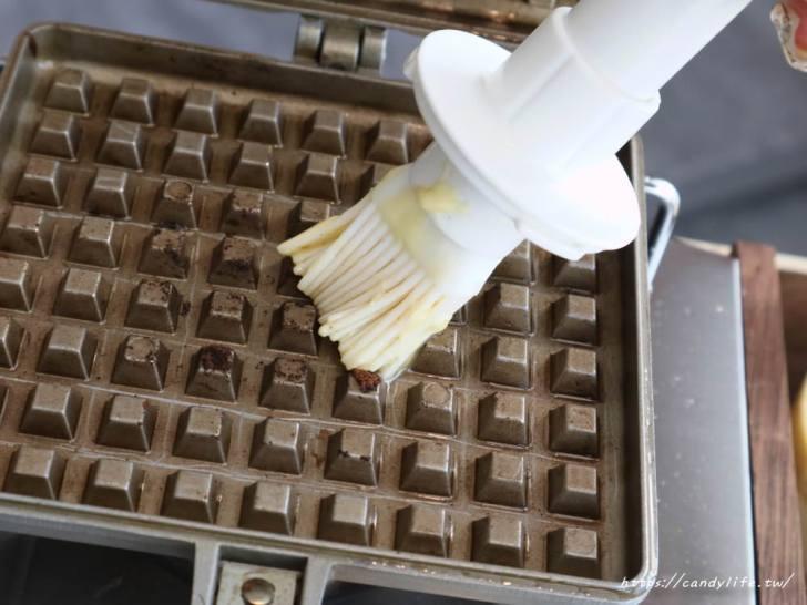 20190730132656 5 - 自烤鬆餅在台中!DIY自烤鬆餅超好玩,每日限量10份!不能預約,只能現場排隊~