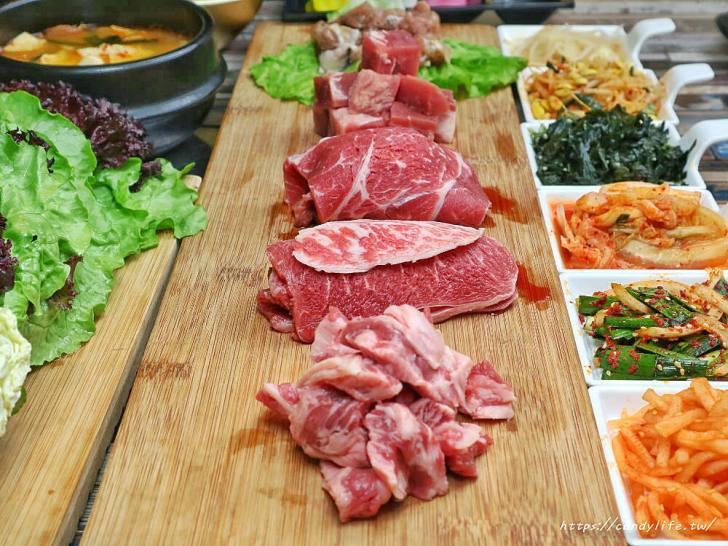 20200226164204 10 - 熱血採訪│台中道地韓式烤肉,獨特吃法更美味,主打雙人套餐,老闆是韓國人哦~