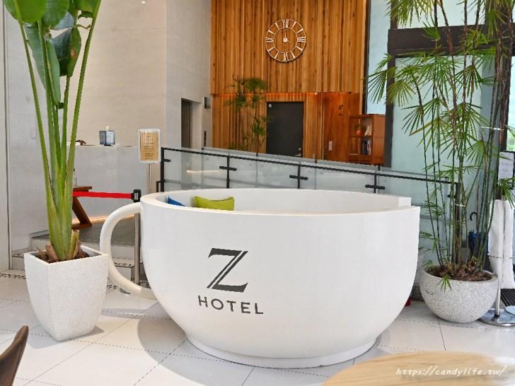 20200825004523 39 - 熱血採訪│台中方形瑪格麗特比薩,隱身在Hotel Z中,可愛咖啡杯座位,餐點擺盤超美又好吃